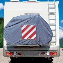 Housse vélos pour porte-vélos Camping-car Bike Cover 2/3