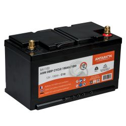 Batterie AGM Deep Cycle ANTARION 100 A/h C10