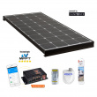 SUNPOWER 140 W régulateur MPPT 160 W bluetooth - dimensions 1342 x 545 x 60 mm - 10.5 kg