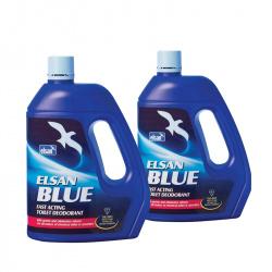 Lot de 2 x 4 litres ELSAN BLUE