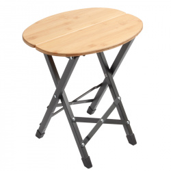 Tabouret TWISTY Bamboo oval