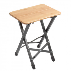 Tabouret TWISTY Bamboo Square