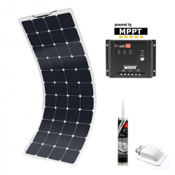 Kit panneau solaire souple Performance MPPT