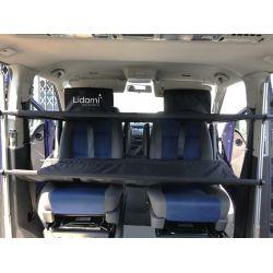 Lits supplémentaires LIDAMI pour cabine de T4-T5-T6-T6.1-JUMPY-TRANSIT CUSTOM munis de sièges pivotants