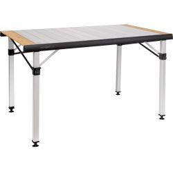 Table de camping pliante et enroulable Quadra Tropic Adjustar 4