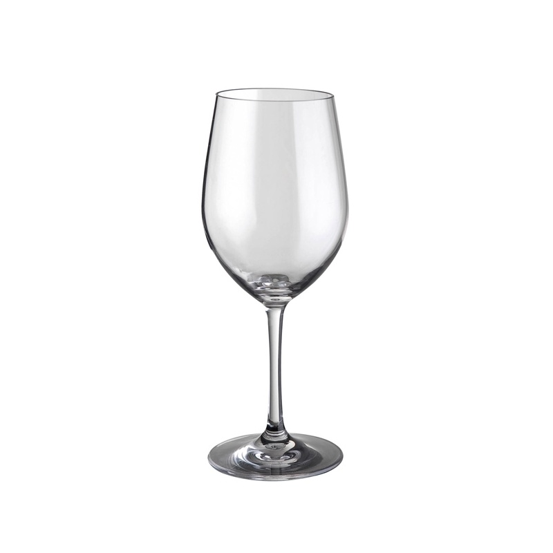 Verre polycarbonate wineglass 30 cl x2 leader loisirs - Verre en polycarbonate ...