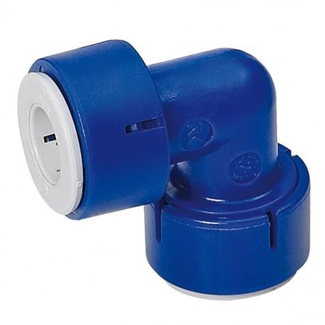 Raccord coudé Uniquick pour tuyau 12 mm