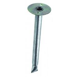 Support acier pour tube de pare-vent