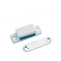 Loqueteau magnétique blanc