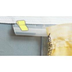 Glisseur plastique pour rideau
