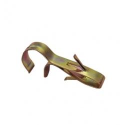 Clip métallique de fixation - 20 mm (blister de 3)