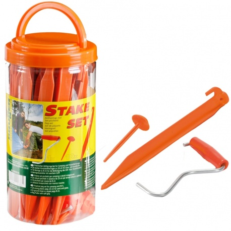 Set de piquet de sol STAKE SET