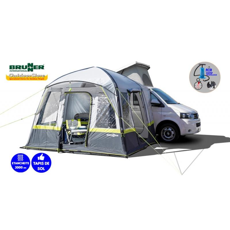 Auvent camping car trouper auvent fourgon ind pendant for Auvent gonflable kampa pour camping car