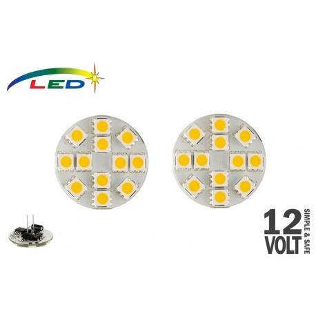 Ampoules LED G4 arrière 2.2 W 200 Lumens