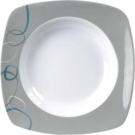 Assiette plate creuse CASCADE BRUNNER