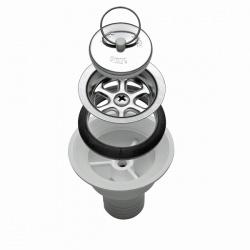 Bonde siphon droite SMEV tuyau 20 mm