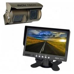 Caméra de recul double optique Equinoxe 18 cm