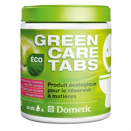 POWER CARE TABS GREEN - DOMETIC