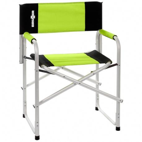 Chaise BRAVURA Vert/Noir