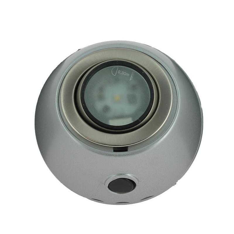 Spot led orientable gris mat - Spot orientable led ...