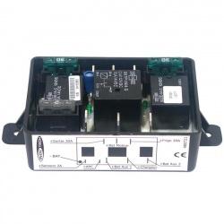 Coupleur séparateur 2 batteries et sécurité tension basse