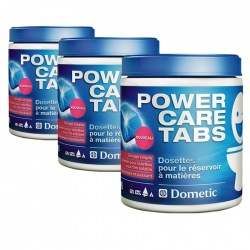 Lot de 3 POWER CARE TABS DOMETIC