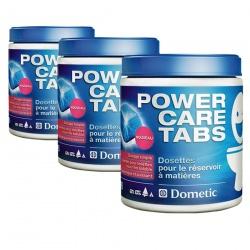 Lot de 3 POWER CARE TABS DOMETIC
