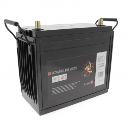 Batterie Camping car Power Line AGM 140 A/h