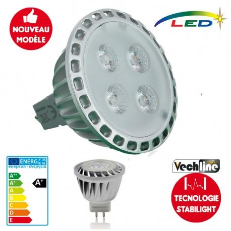 Ampoule LED GU5.3 - MR16 330 lumens STABILIGHT