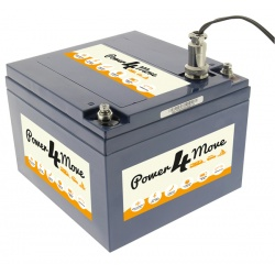 Batterie Lithium-ion 18Ah Power4Move