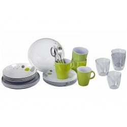 Set vaisselle 36 pièces ALL INCLUSIVE SPACE