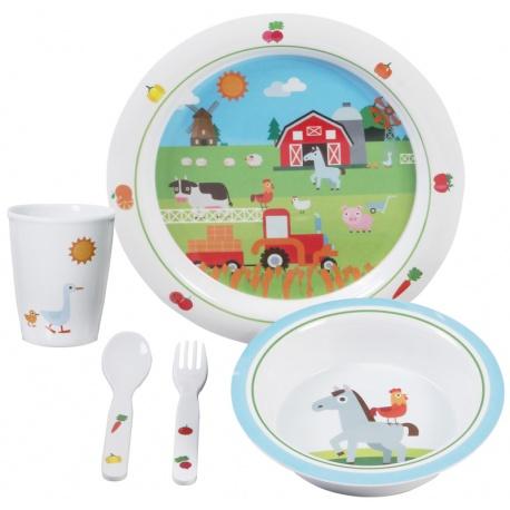 Kit vaisselle enfants Boy 3+