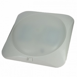 Plafonnier LED carré GM Blanc