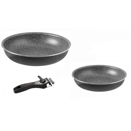 Set de poëles PIRATE PAN 3 - 28 cm + 22 cm