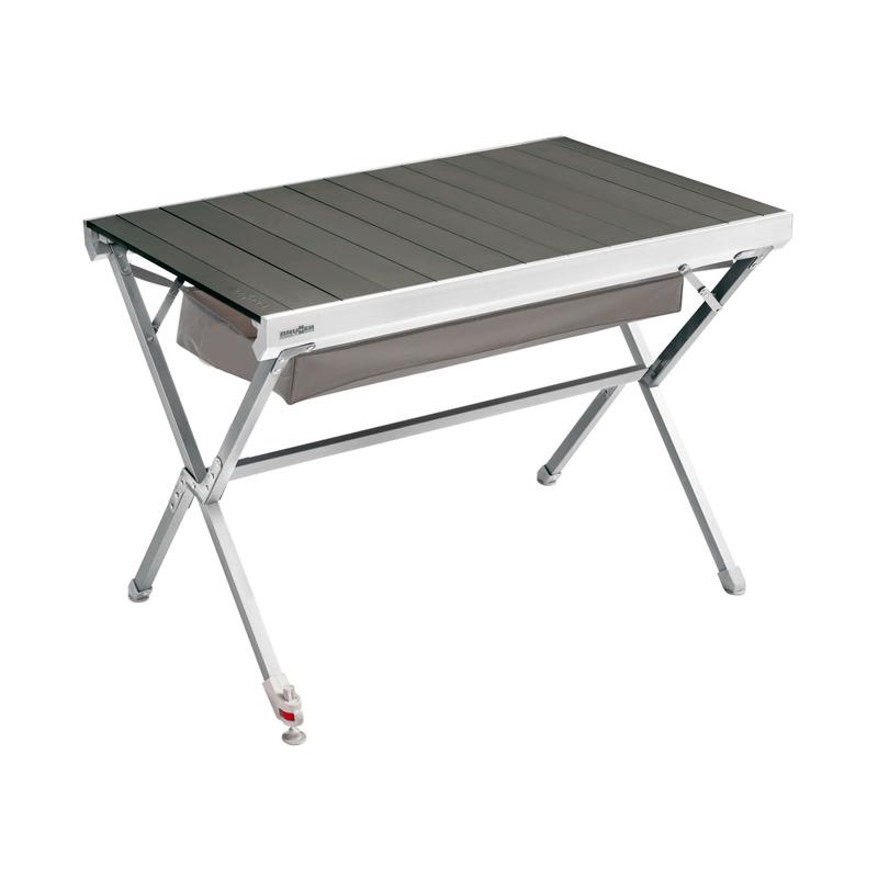 table de camping pliante brunner titanium ng2 plateau enroulable alu. Black Bedroom Furniture Sets. Home Design Ideas
