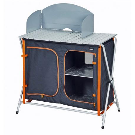 meuble de cuisine pliant trigano tangerine leader loisirs. Black Bedroom Furniture Sets. Home Design Ideas