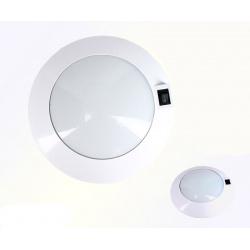 PLAFONNIER 6 LEDS BLANC NEUTRE