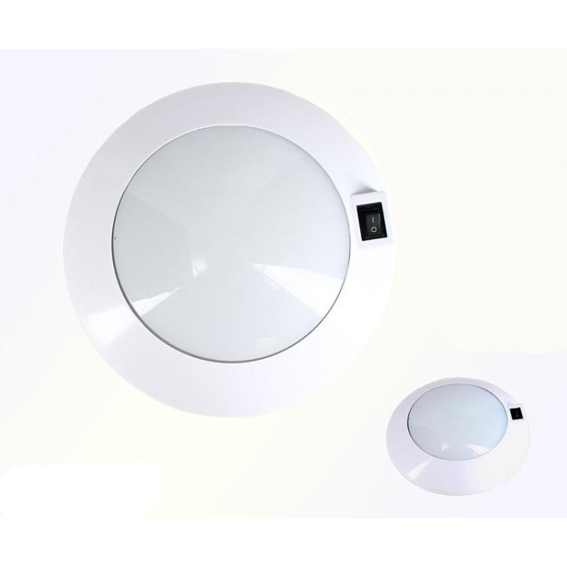 plafonnier 6 leds blanc neutre leader loisirs. Black Bedroom Furniture Sets. Home Design Ideas