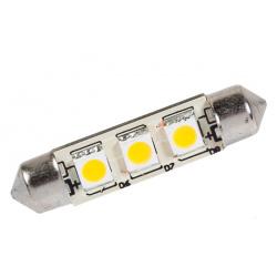 Ampoule LED navette longueur 42 mm 50 lumens STABILIGHT