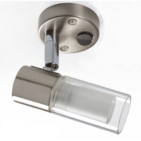 Spot LED métal 1W avec inter