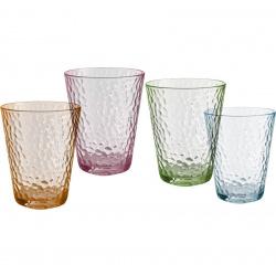 Set de 4 verres VINTAGE DESIGN