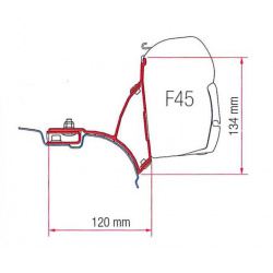 Adaptateurs Fiamma F45S VW T5/T6 Transporter Multivan