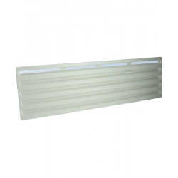Cache hiver pour grille THETFORD PM 435 x 130 mm blanc