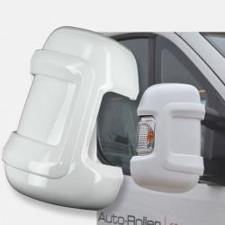 Coques de protection Blanches MILENCO pour rétro FIAT X250