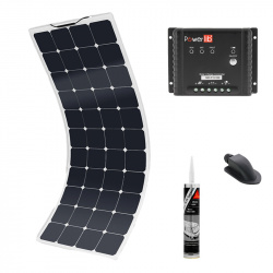 Pack solaire 100W Back Contact MPPT