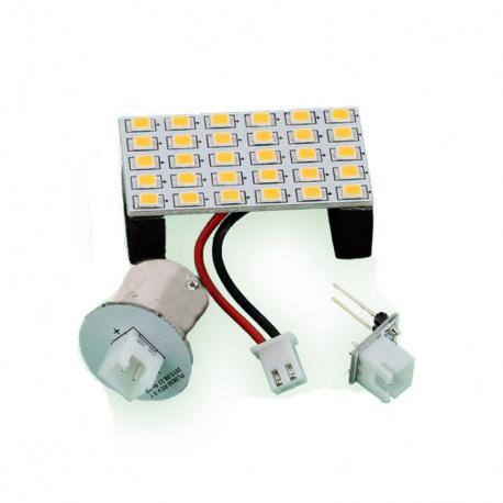 ampoule led avec adaptateur ba 15 s et g4 145 lumens stabilight leader loisirs. Black Bedroom Furniture Sets. Home Design Ideas