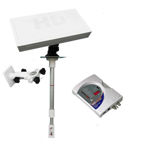 Pack antenne satellite manuelle et pointeur SF 700