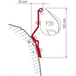 Adaptateurs store F35 Pro pour VW T4 Lift roof