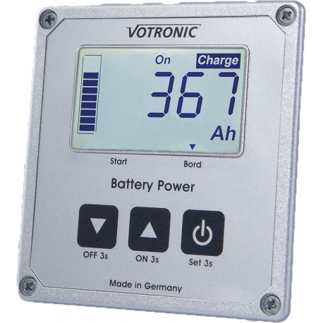 indicateur de batterie lcd s votronic avec smart shunt leader loisirs. Black Bedroom Furniture Sets. Home Design Ideas