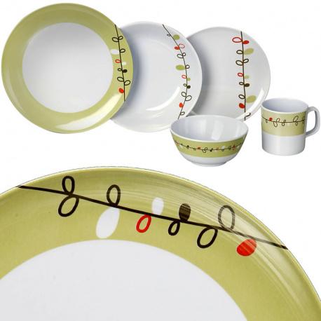 Set vaisselle 16 pièces ESPRIT